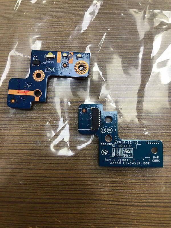 Оригинал для Dell Latitude 7270 E7270 led световая панель для LS-C451P