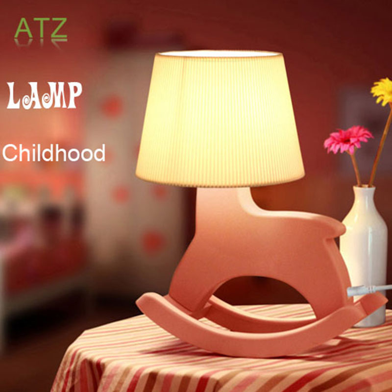 Modern Table Lamps Bedroom Living Room Cute Trojan Modeling Lamp Light Creative Birthday Kids Novelty Gift - Zhuhai ATZ Technologies Co., Ltd. store