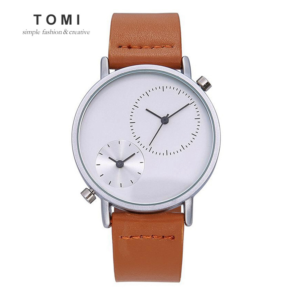 TOMI Luxury Brand Mens Watches Watch 30m Sport Waterproof Quartz Watch Casual Leather Male Business Mens Wrist Watches tomi luxury business watch mens fashion brand sport waterproof quartz wristwatches fashion luxury mens leather dress watches