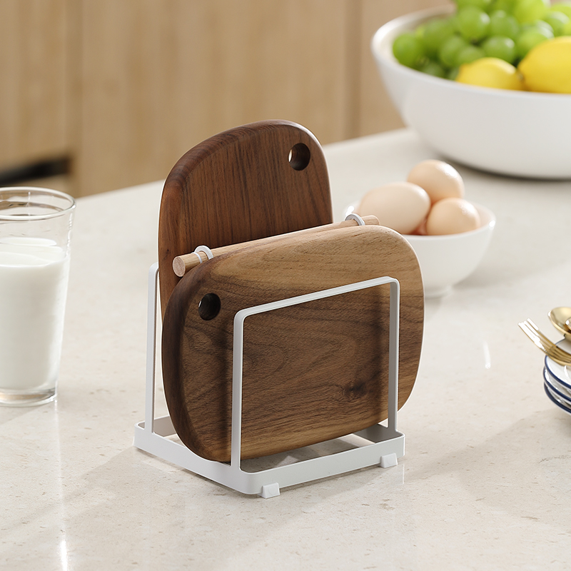 Kitchen Anvil Frame, Kitchen, Nordic Iron Plate Receiving Vegetable Pot Cover Frame