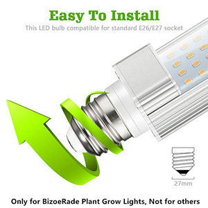 Image 2 - 220V E27 Kweeklampen Lamp 45W Volledige Spectrum Sunlike Groeiende Lamp Daglicht Vervanging Groeien Lamp voor Planten gloeilamp