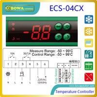 디지털 온도 컨트롤러는 단일 온도 센서에서 입력 신호를 수용 할 수있는 온도 조절기가 포함되어 있습니다.