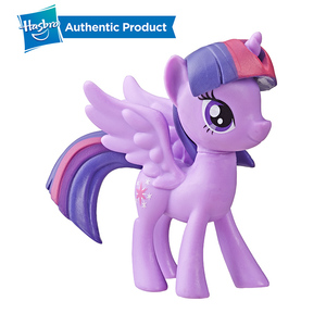 Image 4 - Hasbro My Little Pony Toy Rainbow Tail Surprise Collection Pack Of 6 3 Inch Fan Pony Figures Doll Twilight Pinkie Pie Rarity