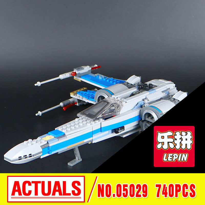 New 2016 LEPIN 05029 Star First Order Poe's X-Fighter wing  building blocks X Star wing  PLAN Toys For Children 75149   wars hot sale building blocks assembled star first wars order poe s x toys wing fighter compatible lepins educational toys diy gift