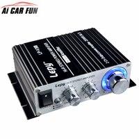 LP V3S 50W 12V Mini Hi Fi Stereo Digital Power Amplifier MP3 Car Audio Speaker With