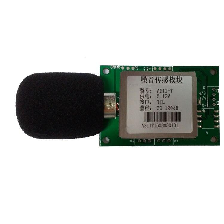 Noise Sensor Module, Decibel Detection Probe, MODBUS RTU Protocol, RS485 Sound Level Meter Test and Measurement