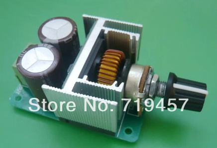 FREE SHIPPING  HY-3A Dc Motor Speed CVT Motor Speed Adjustable Voltage Regulator Module