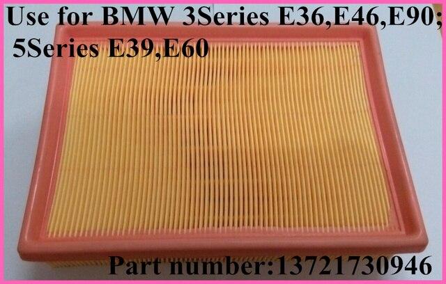High quality original car air filter element 13721730946 for BMW E36,E38,E46,E60,E90,E83 E85 325i 328i 525i 528i 530i M3 X3 Z4