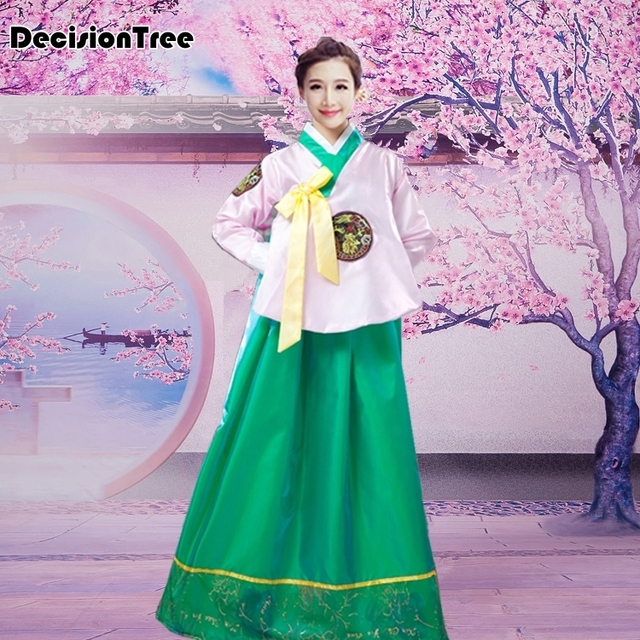 2019 new asia hanbok abiti formali coreano abiti tradizionali abiti delle donne  abbigliamento abiti da ballo 93049550ca6