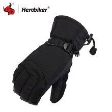 2018 Man Winter Sport Waterproof Motorcycle Gloves 30 Degree Motorcross Riding Gloves Snowboard Skiing Warm Gloves