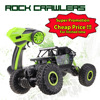Lynrc RC Car 4WD 2.4GHz Rock Crawlers Rally climbing Car 4x4 Double Motors Bigfoot Car Remote Control Model Off-Road Vehicle Toy