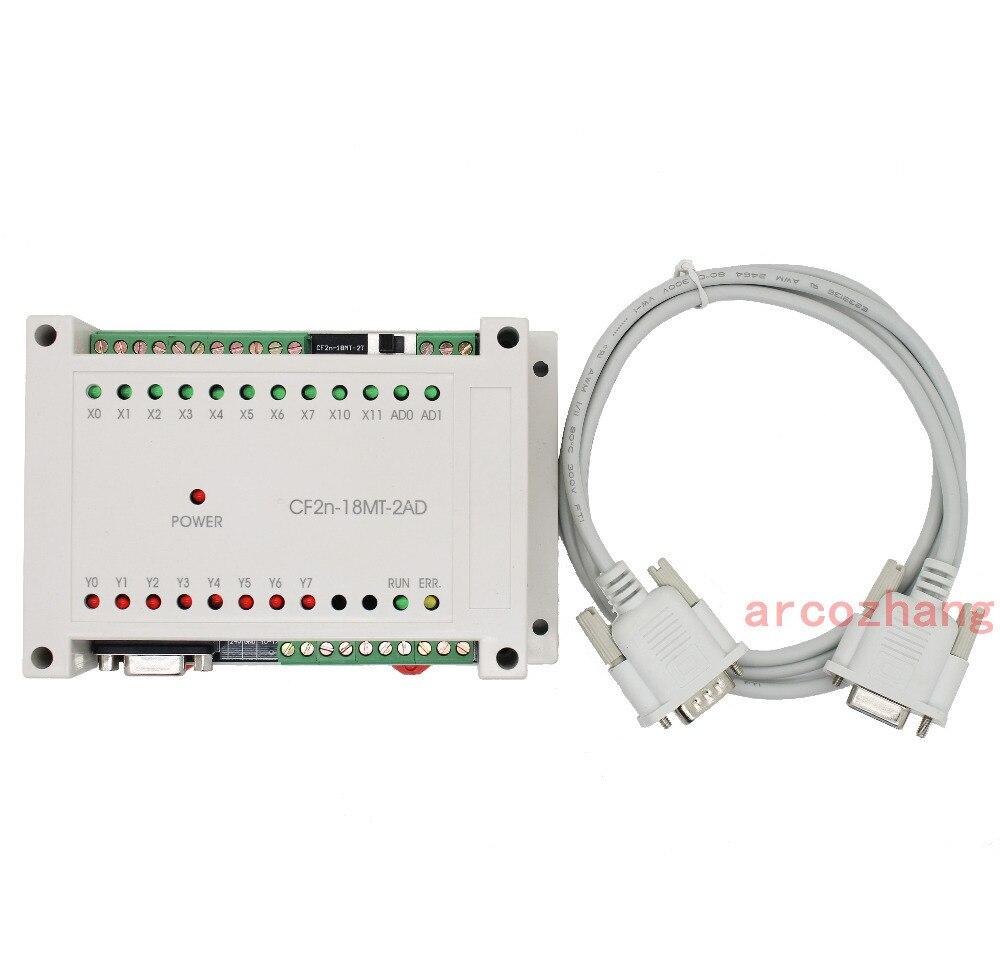 CF2N 18MT 2AD программируемый логический контроллер 10 Вход 8 транзисторов выход ПЛК контроллер Автоматизация управления Plc системы