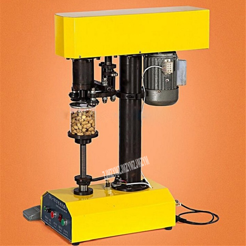 TDFJ160PETNew boîte électrique étanchéité Machine bureau-top automatique boisson aluminium boîtes de conserve d'étanchéité Machine 220 V/110 V 370 W 39-150 MM