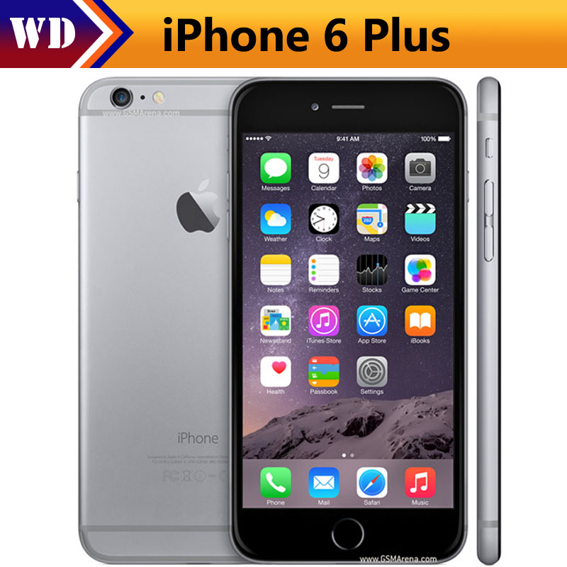 iphone 6 plus used unlocked original iphone 6 plus 16gb 64gb 128gb 5 5 screen 2566