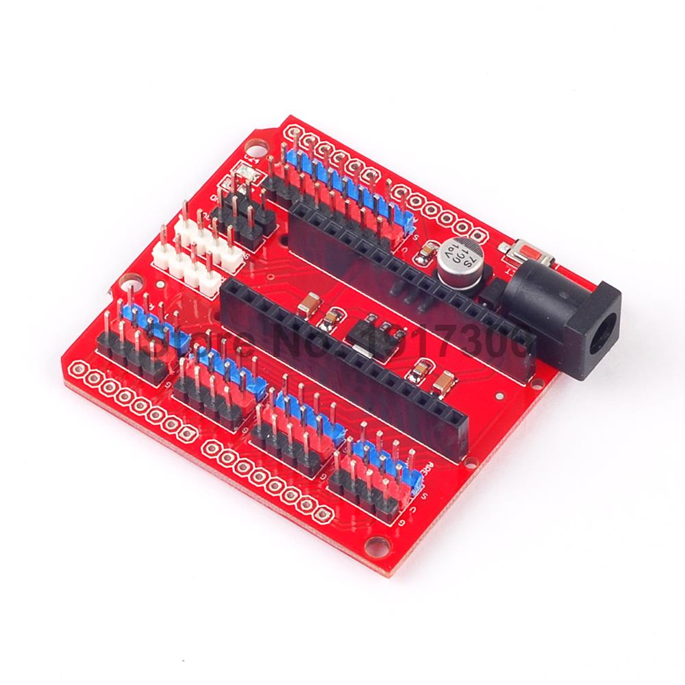 1PCS Nano Prototype Shield I/O Extension Board Expansion Module For Arduino Nano V3.0 prototype shield v3 expansion board w miniature breadboard for arduino mega