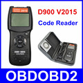 Universal V2015 D900 Code Reader OBDII EOBD Scanner 2015 Latest CAN-BUS Live Data DTC OBD Check Engine Multi-Brand Cars