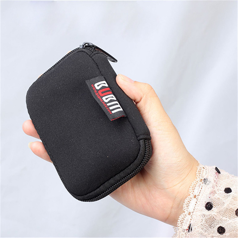USB Flash Drives Organizer Case Storage Bag Protection Holder For Travel Bags in Storage Bags from Home Garden