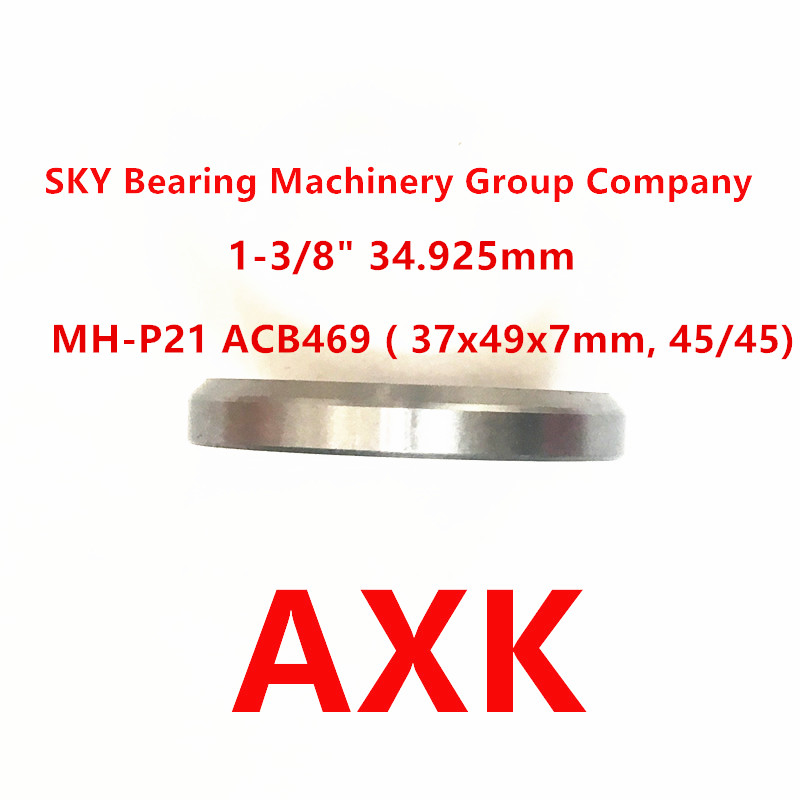 "1-3-8/"" double-sealed Bicycle Headset Hybrid Bearing 45//45 37x49x7mm"