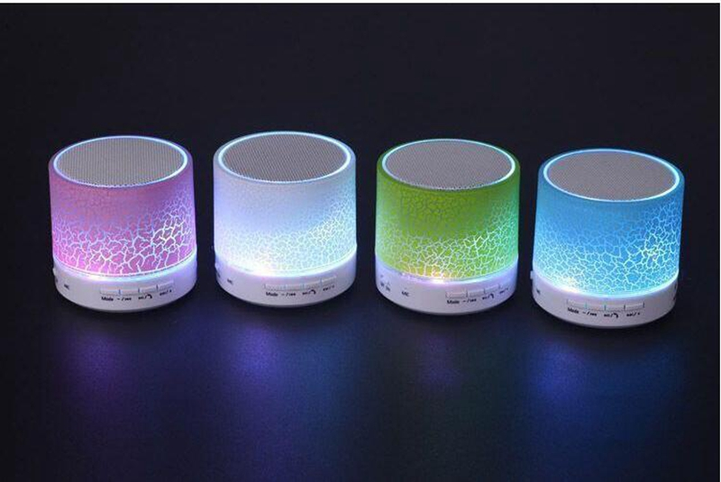 Ollivan A9 LED Bluetooth Speaker Mini Speakers Hands Free Portable Wireless Speaker With TF Card Mic USB Audio Music Player (24)