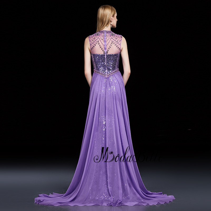 modabelle Custom Mermaid Prom Dresses Delicate Beaded Robe Longue Soiree Luxury Crystal Long Evening Gowns 2018 Real Sample in Prom Dresses from Weddings Events
