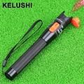 KELUSHI 10 mw 5 ~ 8 km de Metal Fibra Óptica Visual Fault Locator Fiber Optic Cable Tester Checker Tool