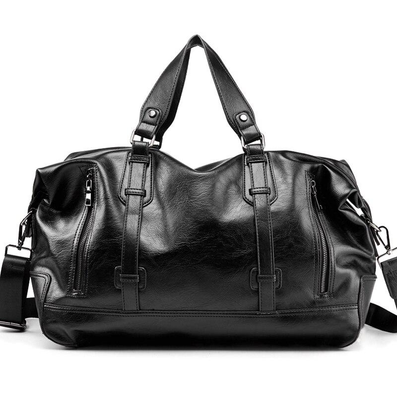 Fashion Mens Travel Bags Luggage Waterproof Suitcase Big Duffel Bag Large Capacity Bags Casual High-Capacity PU Leather HandbagFashion Mens Travel Bags Luggage Waterproof Suitcase Big Duffel Bag Large Capacity Bags Casual High-Capacity PU Leather Handbag