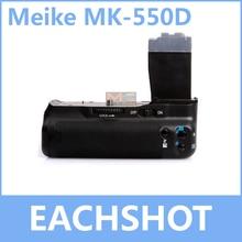 MeiKe MK-550D, MK550D MK 550D BG-E8 BP-550D Батарейная ручка для цифровой однообъективной зеркальной камеры Canon EOS 550D 600D 650D 700D Rebel T2i T3i T4i поцелуй X4 X5 X6