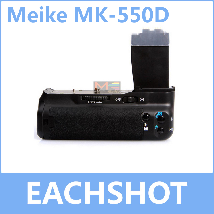 MeiKe MK-550D, MK550D MK 550D BG-E8 BP-550D Battery Grip for Canon EOS 550D 600D 650D <font><b>700D</b></font> Rebel T2i T3i T4i Kiss X4 X5 X6 image