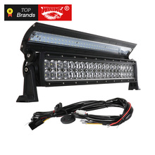 WINING New 6D Flip cover Double Row LED Light Bar for Offroad Car 4WD Truck Trailer 4x4 SUV ATV Spot Flood Combo LED Work Light auxmart 20inch 252w 6d tri row led light bar offroad combo beam work light 12v 24v for 4x4 4wd suv atv rzv trailer truck led bar