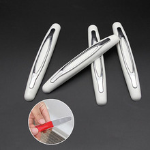 4PCS Car Door Protector Strip Edge Trim Guard Sticker Protection Pad Decorative Stickers Auto Styling Accessories