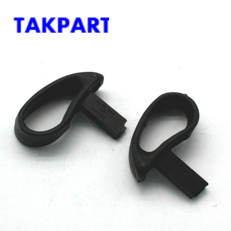 TAKPART 1 Pair Black Car Seat Lift Tilt Release Handle Left  & Right For VW MK4 Golf For Audi SEAT 1J3881634B ,1J3881633B