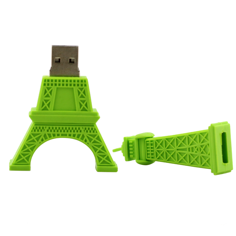 Pendrive usb flash drive մոխրագույն Paris Tour Eiffel 8gb - Արտաքին պահեստավորման սարքեր - Լուսանկար 3