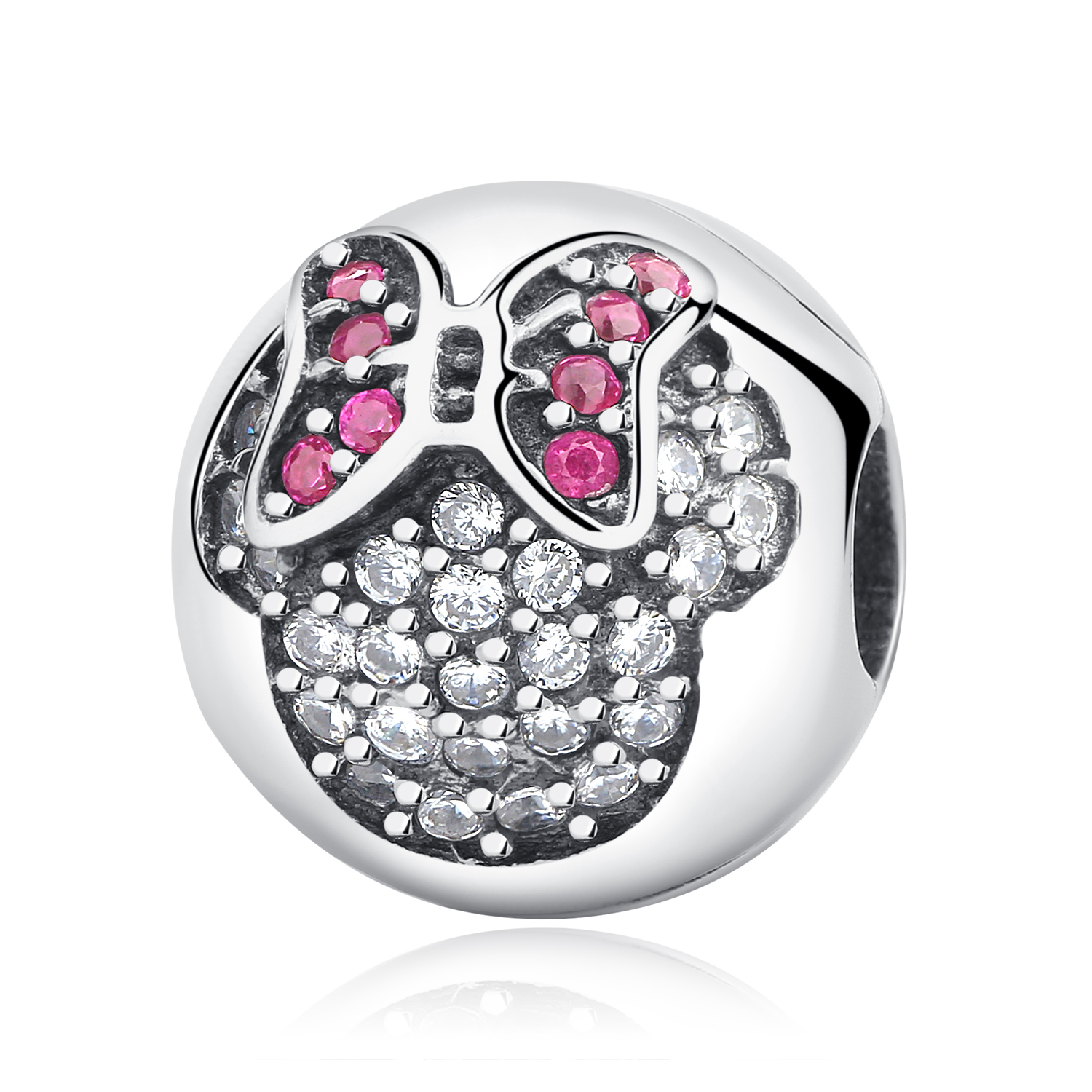 Real 925 Sterling Silver 2018 Aliexpress Hot Sale Clip Charms Stopper Safety Beads Fit Original Pandora Bracelets DIY Jewelry in Beads from Jewelry