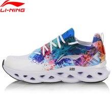 Li ning kobiety LN ARC poduszka do biegania buty oddychające sneakersy Mono przędza podszewka poręczne buty sportowe ARHP108 SJAS19