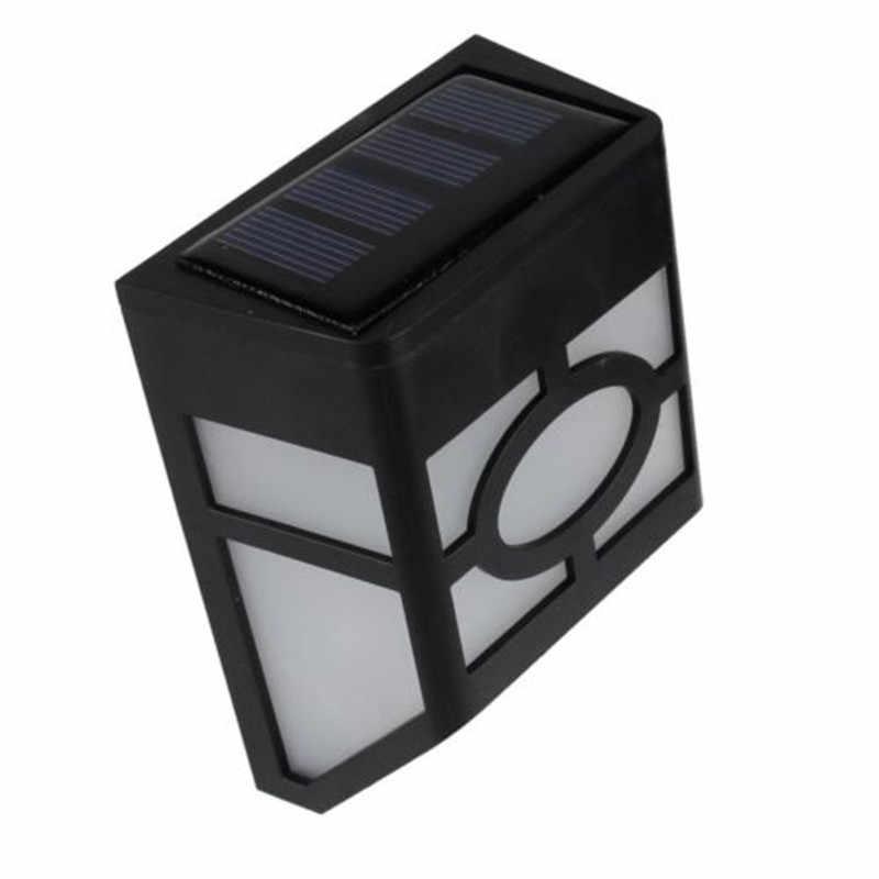 Настенный монтируемый светодиодный фонарь с солнечной батареей, уличный садовый пейзаж для ограды, двора