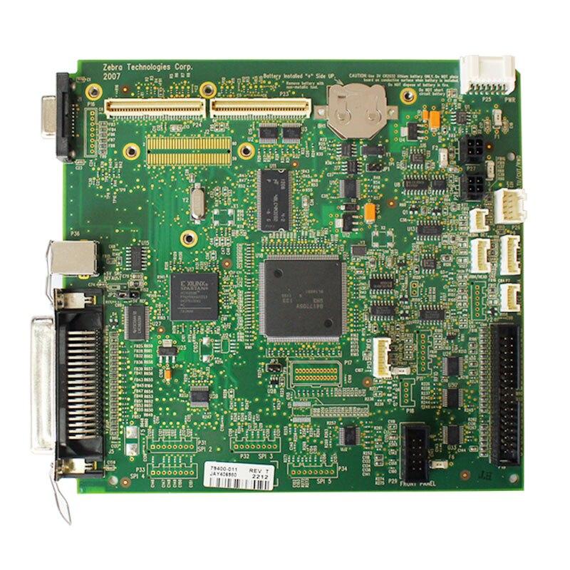 Для Zebra ZM400 принтер штрих-кода аксессуары материнская плата интерфейсная плата оригинальный разбирать Тесты