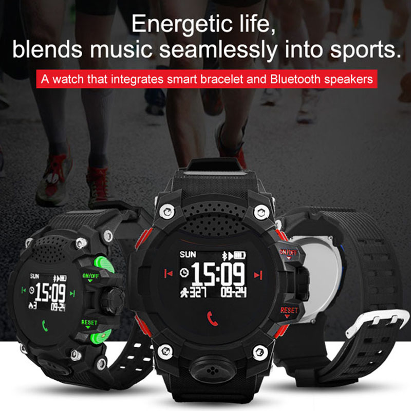 Pedometer Smartwatch Calorie-Counter Digital Bluetooth Sport-Bracelet Waterproof Men