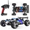 Cena de carreras de coches Wltoys A959 coche de Control remoto 2.4 GHz 4WD con 40 - 60 km / hora alta velocidad rc juguete de regalo coche eléctrico para el niño