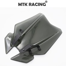 цена на MTKRACING For YAMAHA MT-09 MT 09 2017 Motorcycle Accessoris Windshield WindScreen Visor Viser FZ-09 FZ 09 2017
