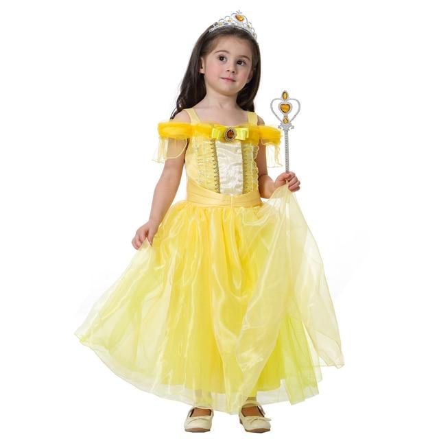 ABGMEDR Marke 2017 Sommer Mädchen Kleid Mädchen Ariel Belle ...