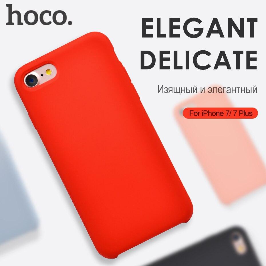 bilder für Hoco Marke Für iPhone 7 & 7 Plus Fall Silikagel PC abdeckung für iPhone 7 Plus Schutzhülle Schutz Shell für iPhone 7 fall