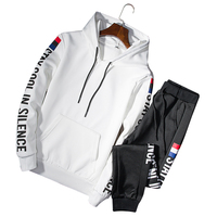 sportswear Spring Autumn Section Hoodies+Pants Casual Suit Sweater Men's tracksuit Clothing large size M 4xl long sleeved c51