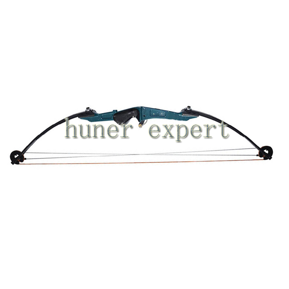 ФОТО An archery 51lbs hunting compound bow with plastic bow sight right handed archer aluminum bow riser