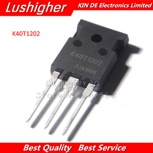 2PCS K40T1202 IKW40N120T2 TO-247 TO247 IKW40N120 IGBT 40A 1200V 40T1202 Original