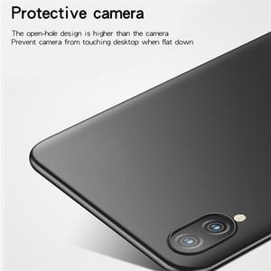 Image 5 - ViVO Y93 przypadku Silm, odporna na wstrząsy pokrywa luksusowe Ultra cienka, gładka, twardy telefon etui na Vivo Y93 tylna pokrywa dla ViVO Y 93 Fundas