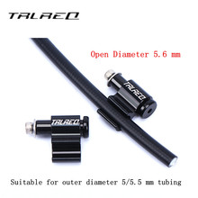 4pcs Bicycle brake Aluminum alloy line pipe Conversion Seat Oil Tube Fixed Frame Wire trap Adapter Seat Clip Bicycle Accessories