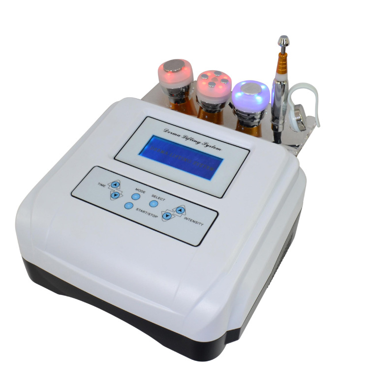 Skin Iontophoresis Skin Ascension & Tightening Beauty Device EMS Ultrasonic Electrophoresis Inductive Beauty Spa Equip