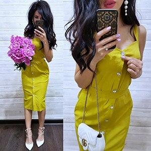 f0016363cc06f AVSMYA Summer shirt dress Women 2019 Sexy yellow purple red