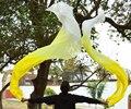 2016 Высокие продажи 100% Реальная Шелковые Вуали 1 Пара ручной работы женщин качество Шелка Танец Живота Танец с Веером Желтый Градиент Белый 180*90 см