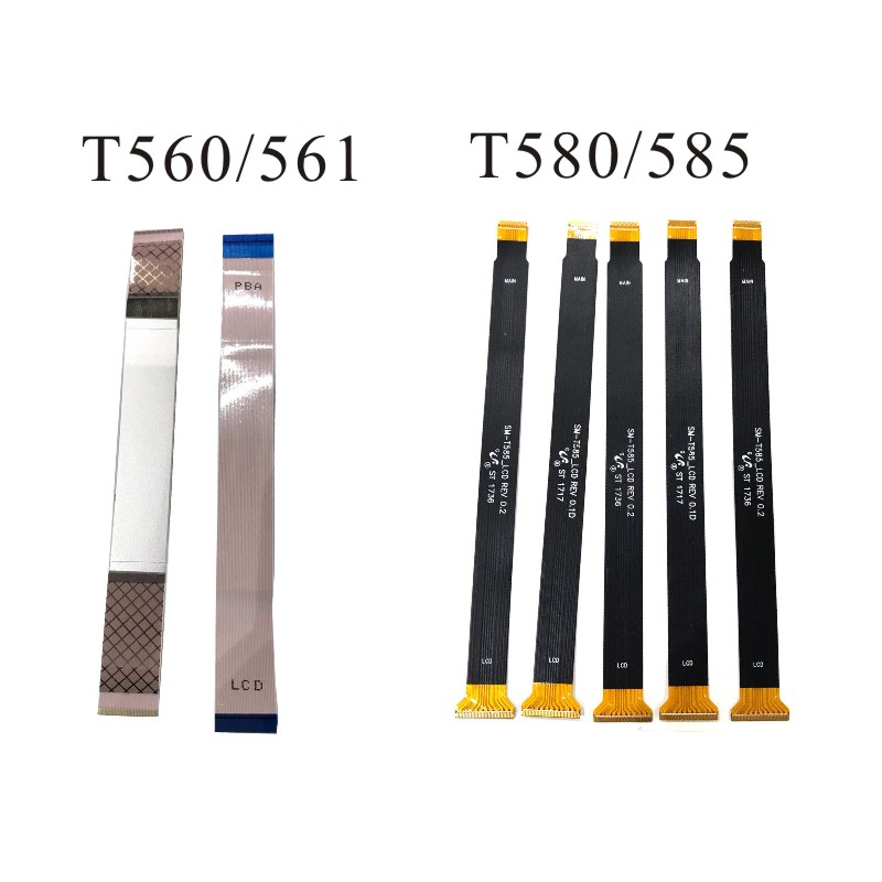 LCD Flex Cable Ribbon Screen Connector Mainboard Flex Cable For Samsung Galaxy Tab E 9.6 SM-T560 T560 T561 T580 T585